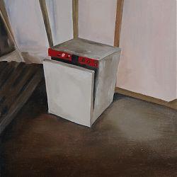Title:Dishwasher  Artist:Theresa Whelan Year:2020 Medium:Oil on Canvas Dimensions:50cm x  40cm Price:€200