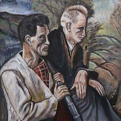 Title: Long Wait  Artist: Gerry O'Connor  Year: 2019  Medium: oil Dimensions: 60x45cm Price: €800
