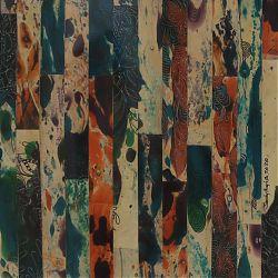 Title:Wide Awake Artist:Sandy Hughes Year:2020 Medium:Collage Pen & Ink Dimensions:42cm x 42cm Price:€280