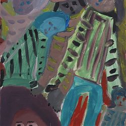 Title:Disco Artist:Peter Cleary Year:2019 Medium:Oil on Canvas Dimensions:36 X 51 cm Price:€500