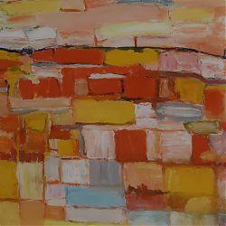 Title:Landscape Artist:Paul Galligan Year:2015 Medium:Oil on Canvas Paper Dimensions:40cm x 56cm Price:€495