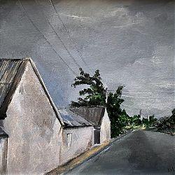 Title: Along The Way Artist: Kay Murphy Year: 2019 Medium: Acrylic Dimensions: 21 x 21cm Price: €120