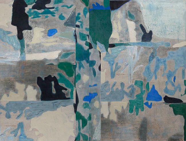 Flavian Garden V.5. by Colm Mac Athlaoich, Oil on Linen, 2020