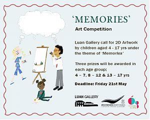 Luan Gallery Cruinniú na nÓg 2021 event: Memories Children's Art Competition