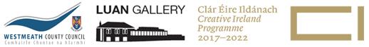 Westmeath county council Luan Gallery and Creative Ireland logos