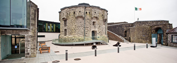 Athlone Castle Keep and Courtyard