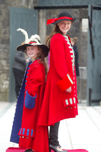 costumes for Athlone Castle