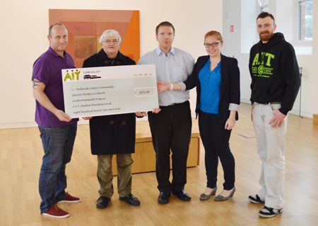 presentation of the cheque