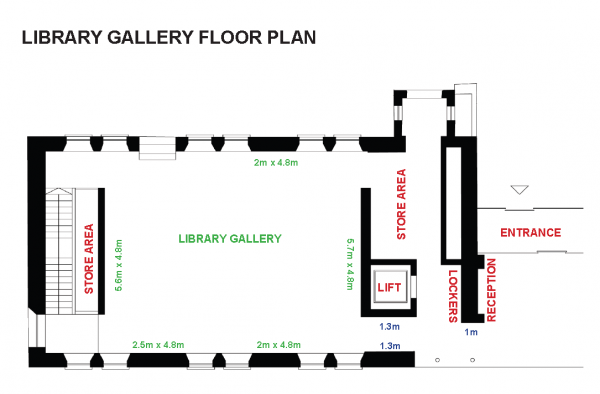 Library Gallery floorplan