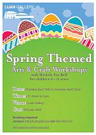 Spring Themed Arts and Craft Workshop at Luan Gallery during the Easter holidays