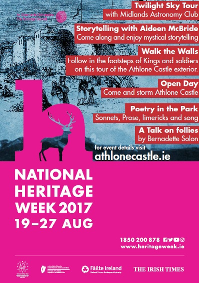 National Heritage Week 2017 at Athlone Castle Visitor Centre