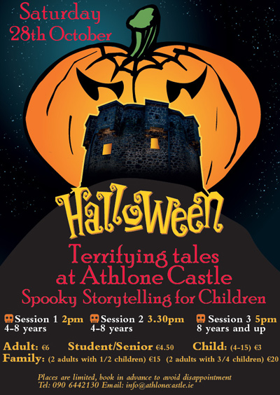 Spooky Storytelling for Children at Athlone Castle this Halloween