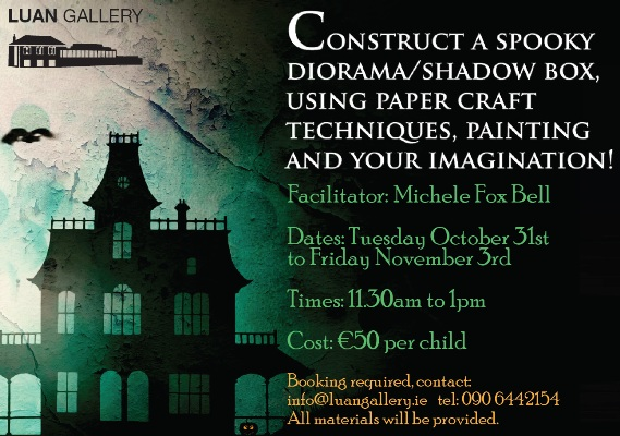 Halloween Arts and Crafts Workshop with Michele Fox Bell