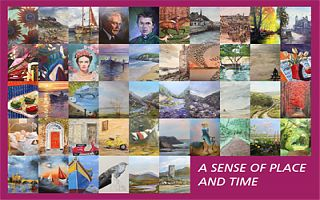 """""""A Sense of Place and Time"""" by Athlone Arts Group at Luan Gallery"""