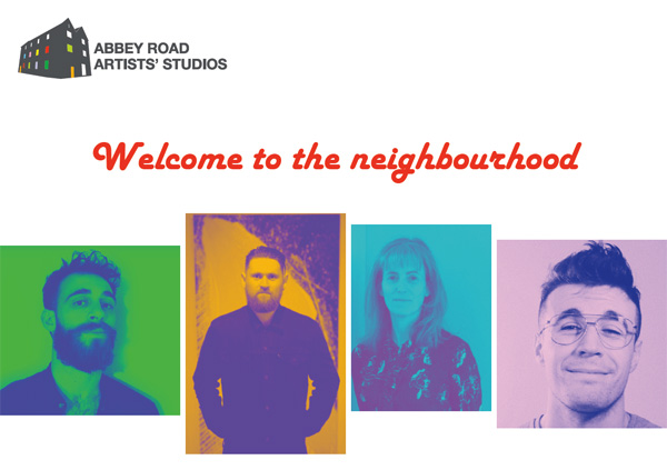 Welcome to the neighourhood - Invite for Abbey Road Artists' exhibition as part of Culture Night 2018