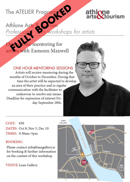 One to one mentoring for artists with Eamonn Maxwell