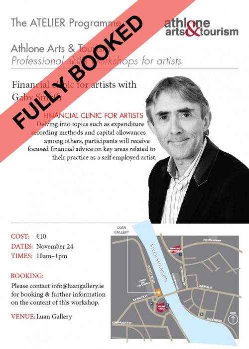 Financial clinic for artists with Gaby Smyth