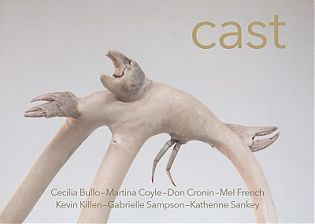 Cast; an exhibition featuring a group of sculptures taking place at Luan Gallery Athlone, from Saturday 6th October 2018