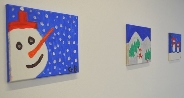 St. Hilda's Special School Christmas Exhibition takes place in the Boardwalk Gallery in Luan Gallery every December