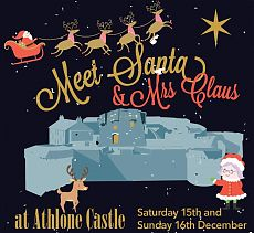 Meet Santa & Mrs Claus at Athlone Castle