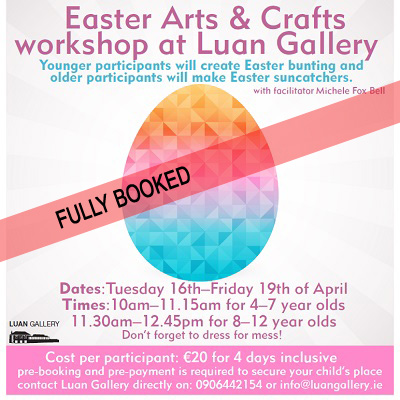 Children's Easter Arts and Crafts Workshop with Michele Fox Bell at Luan Gallery