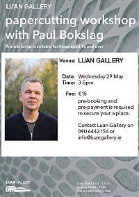 papercutting workshop with Paul Bokslag