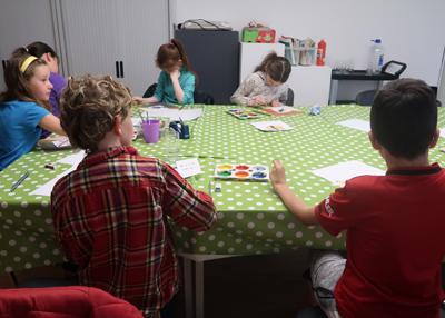 Kids Summer Workshops with Rosemarie Langtry in Luan Gallery