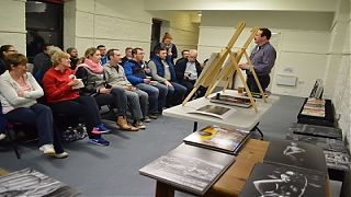 Athlone Photography Club meeting at Abbey Road Artists' Studios