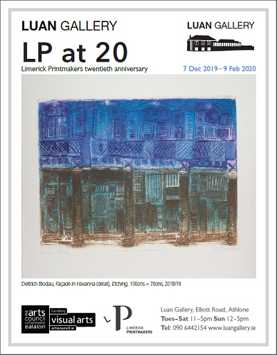 LP at 20: 20 years of Limerick Printmakers exhibition at Luan Gallery Athlone