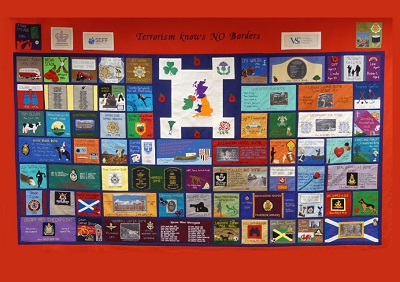 """""""A Tribute to Innocents"""" Memorial Quilt Exhibition at Athlone Castle Visitor Centre"""