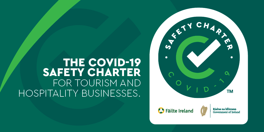 Athlone Castle have been awarded the Covid 19 Safety Charter for Tourism and Hospitality Businesses award