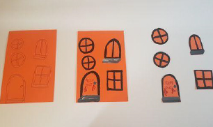 Step 2 Make Your own Halloween Haunted House Craft Activity by Luan Gallery
