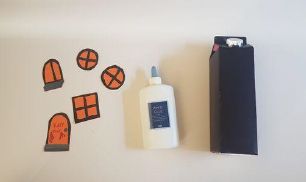 Step 3 Make Your own Halloween Haunted House Craft Activity by Luan Gallery
