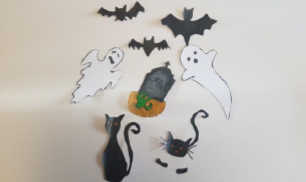 Step 6 Make Your own Halloween Haunted House Craft Activity by Luan Gallery