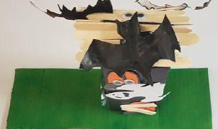 Step 8 Make Your own Halloween Haunted House Craft Activity by Luan Gallery