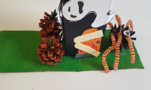 Step 11 Make Your own Halloween Haunted House Craft Activity by Luan Gallery