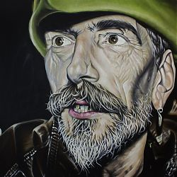 Title: The Blacksmith Artist: Colm Noonan Year: 2014 Medium: Acrylic on Canvas Dimensions: 90 x 120cm Price: €1250