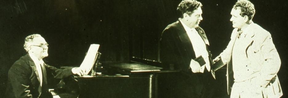 carousel john leaning onpiano