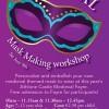 Children's Medieval Mask Making Workshop at LuanGallery