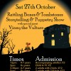 Rattling Bones and Tombstones Storytelling & Puppetry forchildren!