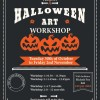 Halloween arts and crafts workshop