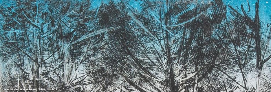carousel dieter blodau winterforest
